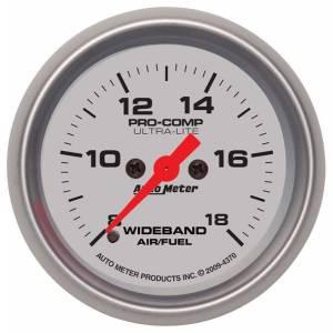 AUTO METER #4370 2-1/16 U/L Wideband Air /Fuel Gauge  Analog