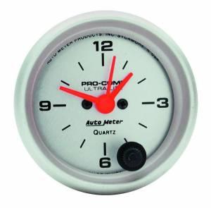 AUTO METER #4385 2-1/16in Ultra-Lite Clock