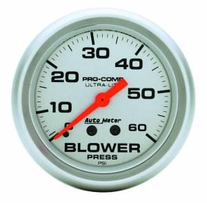 AUTO METER #4402 Pro Comp Blower Pressure Gauge