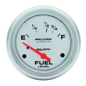 AUTO METER #4418 2-5/8in Ultra-Lite Fuel Level Gauge
