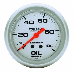 AUTO METER #4421 2-5/8in Mech Oil Pressure