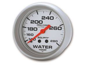 AUTO METER #4431 2-5/8in Mech Water Temp