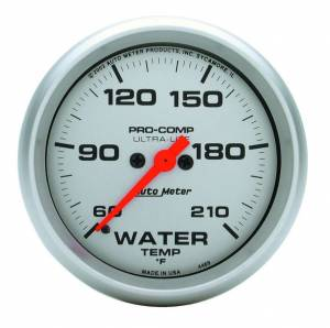AUTO METER #4469 Ultra Lite 2-5/8in Water Temp 60-210 Electric