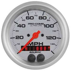 AUTO METER #4480 3-3/8 U/L GPS Speedo w/Rally-Nav Display