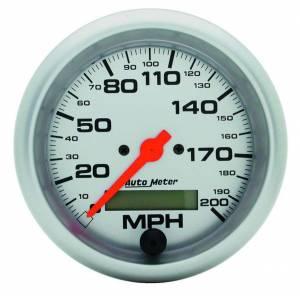 AUTO METER #4486 3-3/8in U/L Electric Speedo 0-200MPH