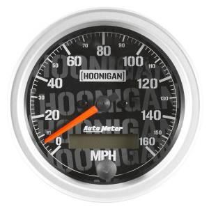AUTO METER #4488-09000 3-3/8in Speedometer 160MPH Hoonigan Series