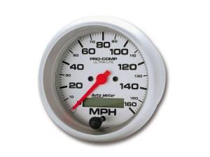 AUTO METER #4488 3-3/8in Ultra-Lite Elec. 160MPH Speedometer