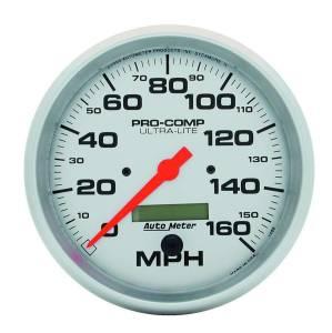 AUTO METER #4489 5in Ultra-Lite Elec. 160MPH Speedometer