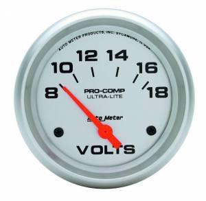AUTO METER #4491 2-5/8in Voltmeter