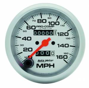 AUTO METER #4493 3-3/8in Ultra-Lite 160mph Speedometer
