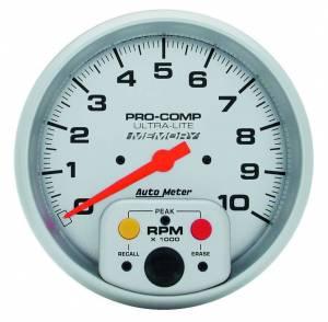 AUTO METER #4494 10 000 Rpm Sgl Range Tac
