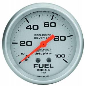 AUTO METER #4612 2-5/8in Ultra-Lite 0-100 Fuel Press. Gauge