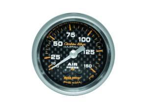 AUTO METER #4720 2-1/16in C/F Air Press. Gauge 0-150psi