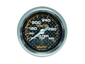 AUTO METER #4731 C/F 2-1/16in Water Temp. Gauge 140-280