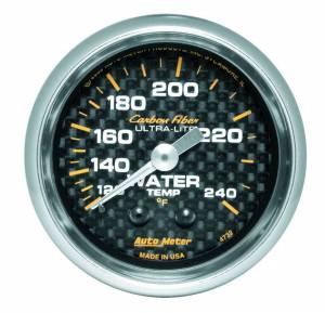 AUTO METER #4732 2-1/16in C/F Water Temp. Gauge 120-240