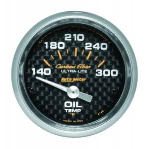 AUTO METER #4748 2-1/16in C/F Oil Temp. Gauge 140-300