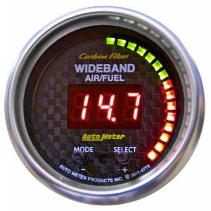 AUTO METER #4778 2-1/16 C/F Air/Fuel Ratio Gauge Wideband