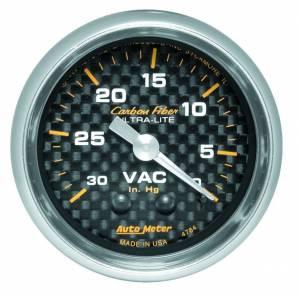 AUTO METER #4784 C/F 2-1/16in Vacuum Gauge
