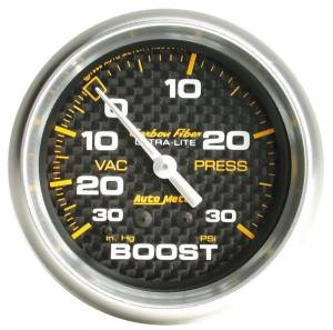 AUTO METER #4803 C/F 2-5/8in Boost Gauge