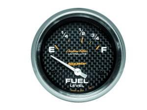 AUTO METER #4815 2-5/8in C/F Fuel Level Gauge 73/10 OHMS
