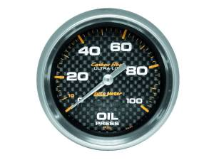 AUTO METER #4821 C/F 2-5/8in Oil Pressure Gauge 0-100PSI