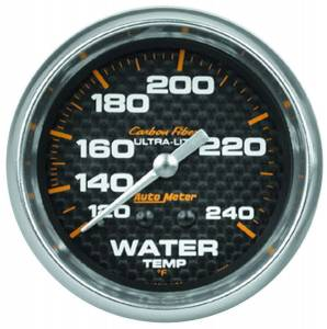 AUTO METER #4832 2-5/8in C/F Water Temp. Gauge 120-240