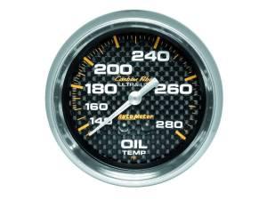 AUTO METER #4841 2-5/8in C/F Oil Temp. Gauge 140-280