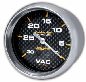 AUTO METER #4884 C/F 2-5/8in Vacuum Gauge