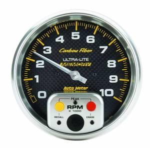 AUTO METER #4894 5in C/F In-Dash Tach 10000RPM
