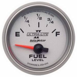 AUTO METER #4913 2-1/16in U/L II Fuel Level Gauge 0-90ohms