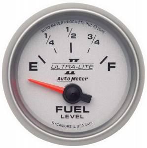 AUTO METER #4916 2-1/16in U/L II Fuel Level Gauge 240-33ohms