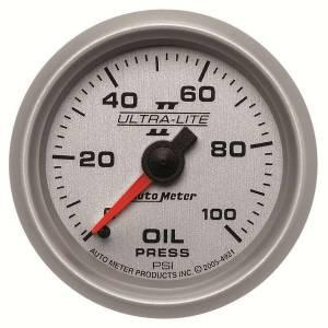 AUTO METER #4921 2-1/16in U/L II Oil Pressure Gauge 0-100psi