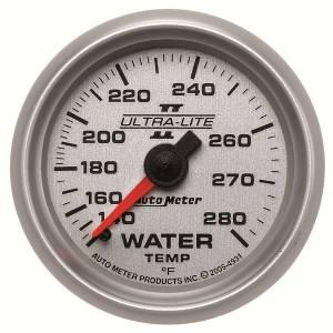 AUTO METER #4931 2-1/16in U/L II Water Temp. Gauge 140-280