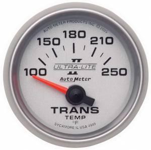 AUTO METER #4949 2-1/16in U/L II Trans. Temp. Gauge 100-250