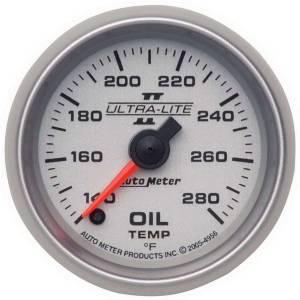 AUTO METER #4956 2-1/16in U/L II Oil Temp. Gauge 140-280