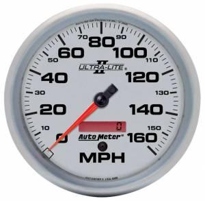 AUTO METER #4989 5in U/L II In-Dash Speedo 160MPH