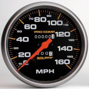 AUTO METER #5154 160 Mph Mech Speedo 5in