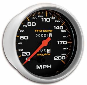 AUTO METER #5156 Pro Comp Speedometer
