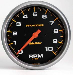 AUTO METER #5160 10000 Rpm Pro-Comp Tach.