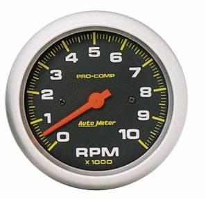 AUTO METER #5161 3-3/8in In-Dash Tachometer