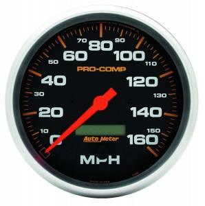 AUTO METER #5189 5in P/C Electric Speedo 0-160MPH