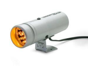 AUTO METER #5333 Super-Lite Shift Light Silver - 12 LED's