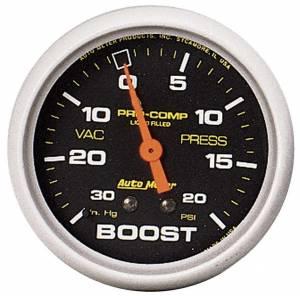 AUTO METER #5401 0-20/0-30 Turbo Boost