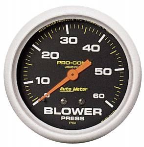 AUTO METER #5402 0-60 Blower Pressure