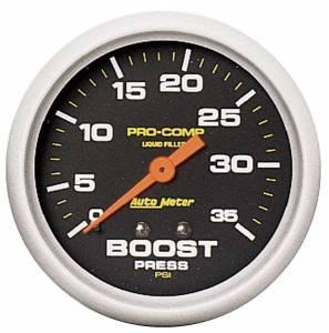AUTO METER #5404 2-5/8in Boost 35psi-Mech