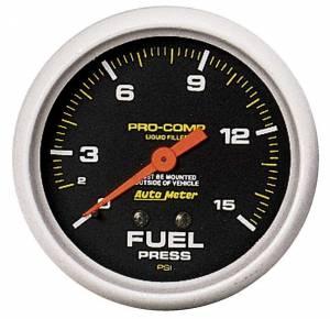 AUTO METER #5411 1-15 Fuel Pressure Gauge