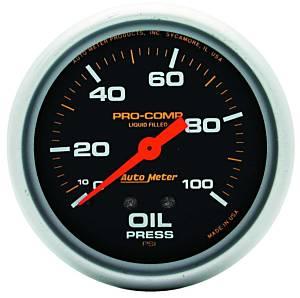 AUTO METER #5421 0-100 Oil Pressure Gauge