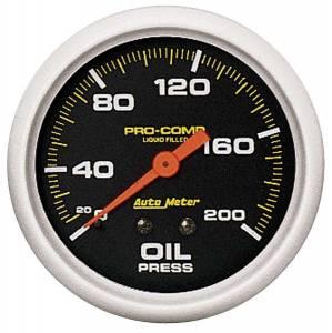 AUTO METER #5422 0-200 Oil Pressure Gauge