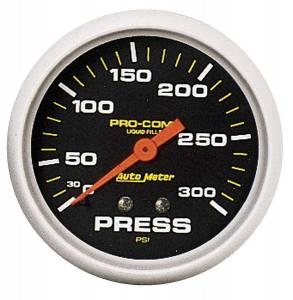 AUTO METER #5423 300 Psi Pressure Gauge