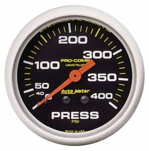 AUTO METER #5424 2-5/8 P/C Pressure Gauge 0-400psi